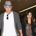 Channing Tatum And Jenna Dewan Cruise Through JFK