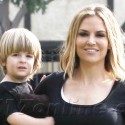 Brooke Mueller Gets Ice Cream With Bob And Max