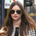 Miranda Kerr Takes Her Pooch To A Business Meeting In NYC