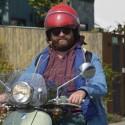 Zach Galifianakis Rides His Vespa Through Venice