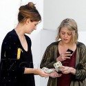 Mischa Barton And A Girlfriend Hit The Bank