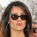 Salma Hayek Hits Paris Fashion Week