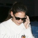 Katie Holmes And Suri Cruise Dine In NYC