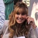 Jennifer Lawrence Greets Fans At Press Event For <em>The Hunger Games</em>