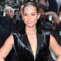 Alicia Keys Attends Chanel Fashion Show In Paris