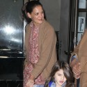 Katie Holmes And Suri Cruise Say Goodbye To The Big Apple