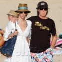 Paul McCartney And Nancy Shevell Relax In St. Barths