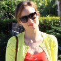 Olivia Wilde Gets Lost On The Way To A Friends House