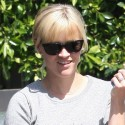 Reese Witherspoon Leaves Byron & Tracey In Beverly Hills