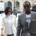 Diddy And Cassie Shop 'Til They Drop In Paris
