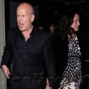 Bruce Willis And Sylvester Stallone Take Their Wives Out