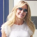 Taylor Armstrong Wears Red Hot Pants