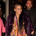 Cassie Steps Out For Dinner In Paris