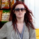 Rumer Willis Gases Up In Hollywood