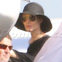 Brad Pitt And Angelina Jolie Leave The Galapagos Islands