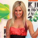 Ashley Tisdale Stuns In Red