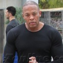 Dr. Dre Works On His Fitness
