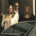 Jennifer And Justin Grab Dinner With Tom And Rita