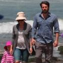 Ben Affleck And Jennifer Garner Have A Beach Day In Santa Barbara