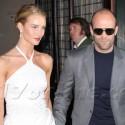 Jason Statham And Rosie Huntington-Whiteley Go To The NYC Premiere Of <em>Safe</em>