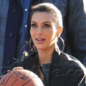 Kim And Khloe Get Basketball Lessons From Lamar!