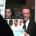 Luis Miguel and Brittny Gastineau Dine At Mr. Chow