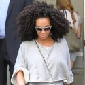 Solange Knowles Sports A Fancy Pair Of Kicks