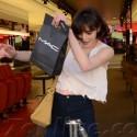 Ali Lohan Shops For Makeup