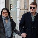 Alec Baldwin And Fiancee Sightsee In Rome