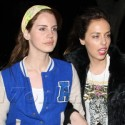 Lana Del Rey Hits The Lakers Game With A Friend