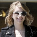 Emma Roberts Goes To The Salon