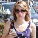 Emma Roberts Leaves Her Chest Enhancements In The Car