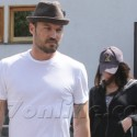 Megan Fox And Brian Austin Green Visit The Spa