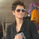 Halle Berry And Olivier Martinez Go Easter Shopping