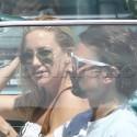 Kate Hudson And Matt Bellamy Run Errands In Brentwood