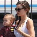 Miranda Kerr And Baby Flynn Do Yoga
