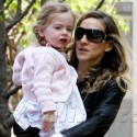 Sarah Jessica Parker Takes The Twins To School