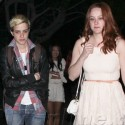 Samantha Ronson Chills With A New Lady