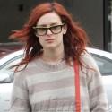 Rumer Willis Loves Her Red Hair