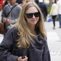 Amanda Seyfried Takes Her Pooch For A Walk