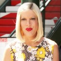 Tori Spelling Shows Off Her Baby Bump For Extra