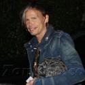 Steven Tyler Arrives At Sunset Marquis Hotel