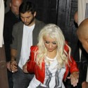 Christina Aguilera And Matt Rutler Party In Hollywood