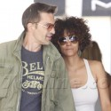 Halle Berry And Olivier Martinez Go Shopping For Makeup