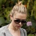 Scarlett Johansson On Set For Hitchcock