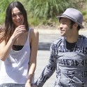 Pete Wentz And Girlfriend Meagan Camper Go Grocery Shopping