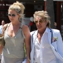 Rod Stewart And Family Shop At Pottery Barn