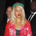 Rihanna Parties Next Door To Chris Brown At MyStudio In Hollywood