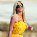 Victoria Silvstedt Rides A Yacht In Cannes