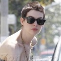 Anne Hathaway Hangs Out With Fiance Adam Shulman